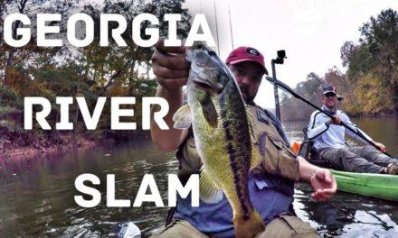 FlukeMaster – The Georgia River Slam – Bass Fishing – Ft. Andy's Fishing from Australia