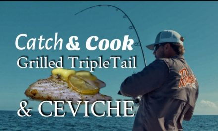 Scott Martin VLOG – Amazing Grilled Tripletail and Ceviche – Catch and Cook