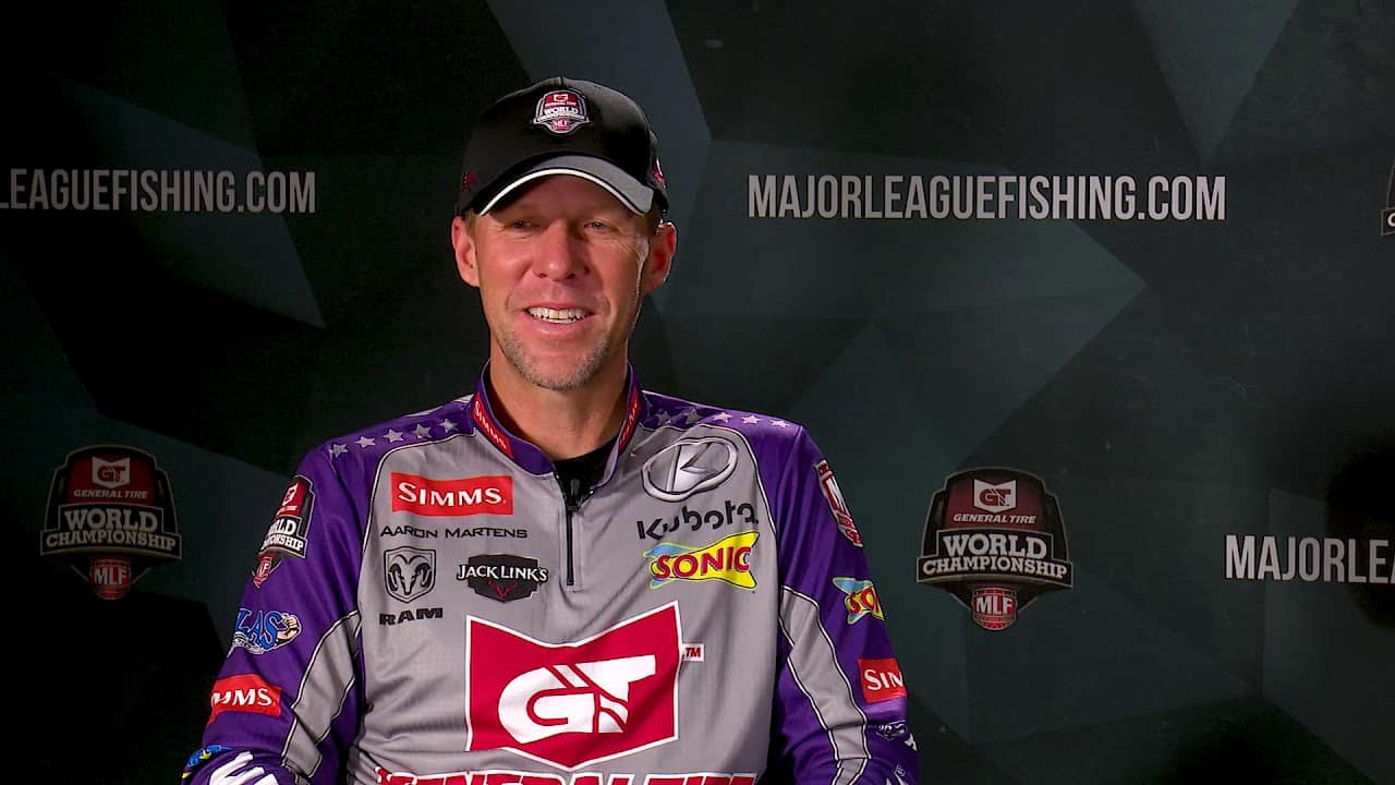 Ask the mlf anglers what does it mean to you for the for Major league fishing world championship