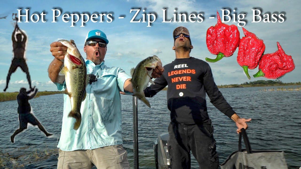 Carolina Reaper Bass Challenge Ft Catch Em All Fishing