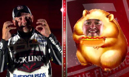 MajorLeagueFishing – Geico Q&Q: Hotdog Eating Contest
