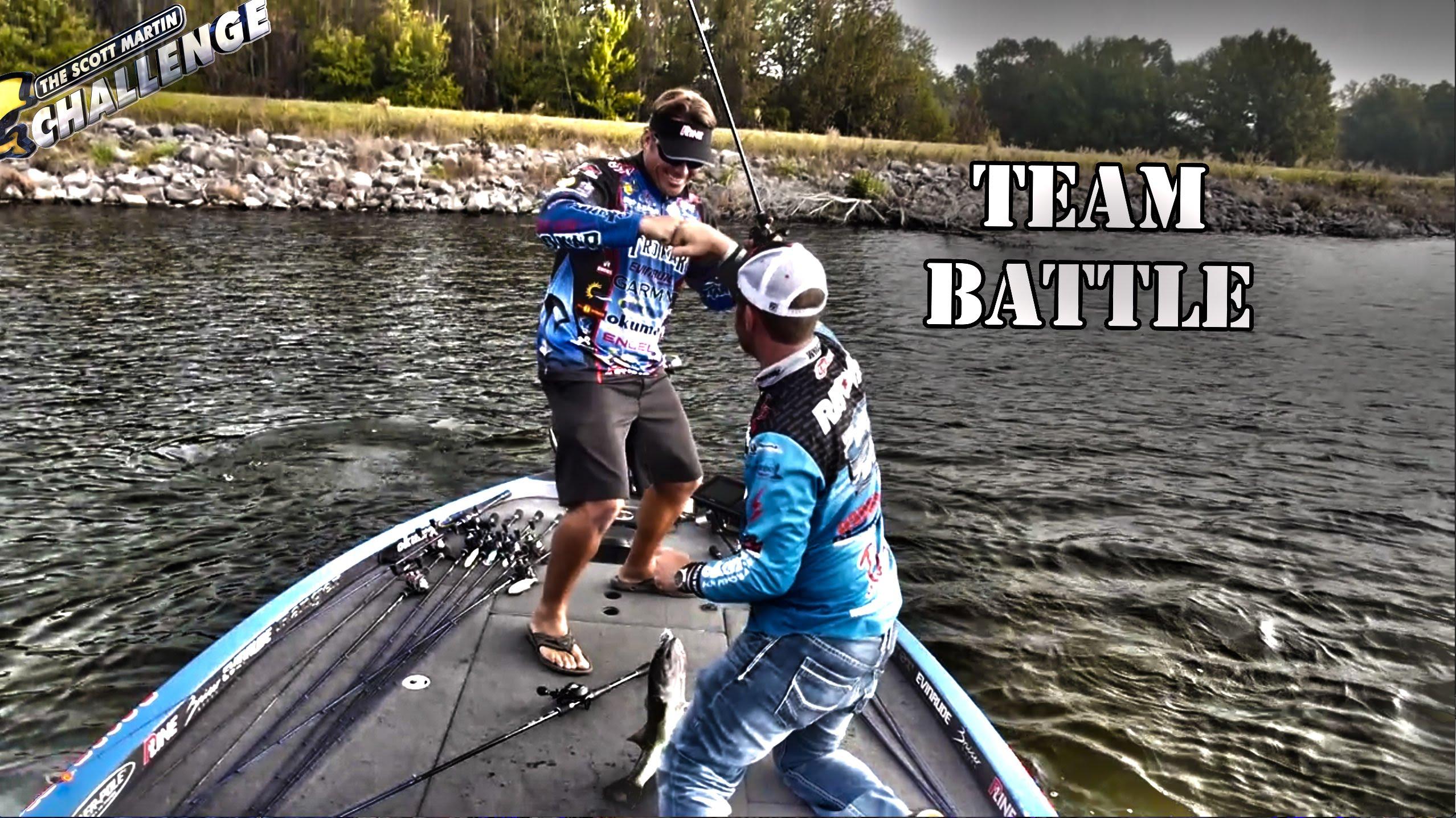 Scott martin challenge smc season 11 6 flw bass team for Bass fishing challenge
