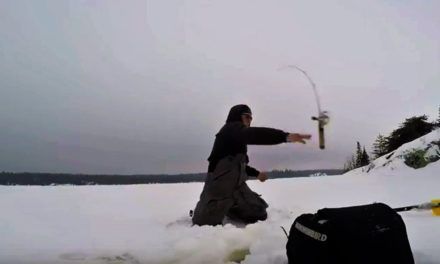 – Ice Fishing SMALLMOUTH Bass!?!? (Rods Thrown)