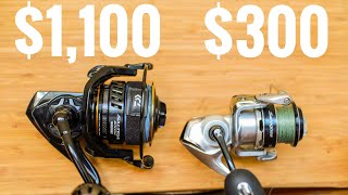 Lawson Lindsey – $1,100 Fishing Reel vs $300 Fishing Reel
