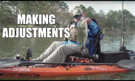 Grinding it Out | Adjustments When Fishing is Tough | Kayak Bass Fishing