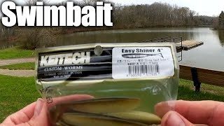 Bass Fishing With a Keitech Swimbait – How To Texas Rig a Swimbait