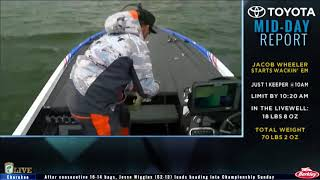 Bassmaster Live: 2017 Cherokee Lake Sunday, part 2