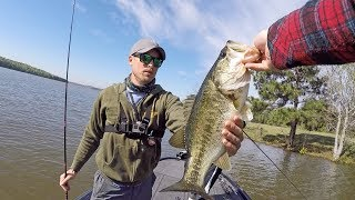 LakeForkGuy – Fresh Spring Bass Beyond Flooded Grass