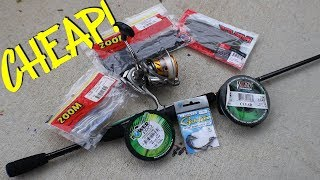 How to get started BASS FISHING (Informational)!!