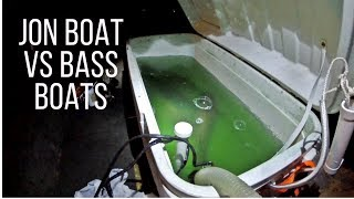 Jon Boat vs Bass Boats II | LUCKY Ending To Our Bass Fishing Tournament On The Potomac River