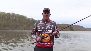 KVD Kevin VanDam fishing crankbaits in summer