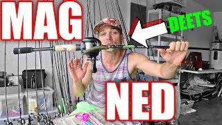 MAG Ned Rig setup ~ all the DETAILS & how to fish it for bass