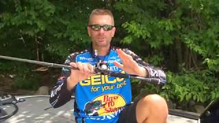 MajorLeagueFishing – Major League Lesson: Randy Howell on Daiwa Reel