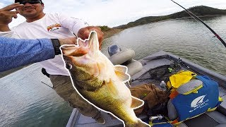 Lunkers TV – THE BIGGEST BASS OF MY LIFE – 19LBS IN 2 CASTS!!