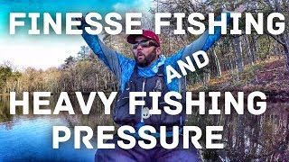 Bass Fishing – Finesse Fishing – How to Fish High Pressure Lakes