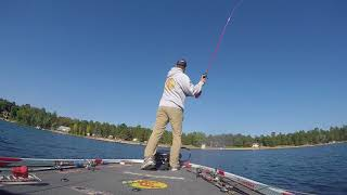 Bass Fishing with the Megabass Dark Sleeper!!!