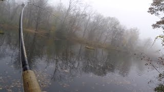 Foggy Fall Bass Fishing in Maryland