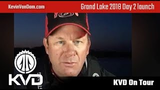 Grand Lake – Bassmaster Elite Series 2018 – Day 2 preview with KVD