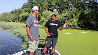 How Dean Rojas skips and CURVES a frog – bass fishing physics