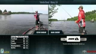 Kevin VanDam fishing live – day 4 Toledo Bend 2016
