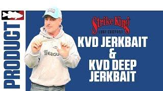 Mark Menendez Discusses the Strike King KVD Jerkbait & KVD Deep Jerkbait