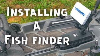FlukeMaster – Mounting a Fish Finder on a Fishing Kayak – Bonafide SS127 Dry Pack