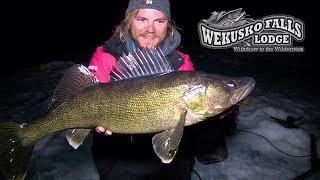 Uncut Angling – Manitoba – NightBite Walleye on NEW Baits – Wekusko Falls, Manitoba