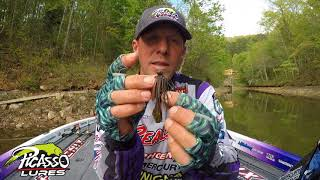 Picasso Lures Tungsten Football Featuring Aaron Martens