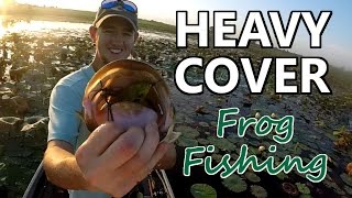 Topwater Frogs in HEAVY COVER – Bass Fishing Tips