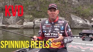 What to look for in a spinning reel with Kevin Vandam KVD