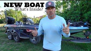 Scott Martin Pro Tips – My New Boat – What's Inside?