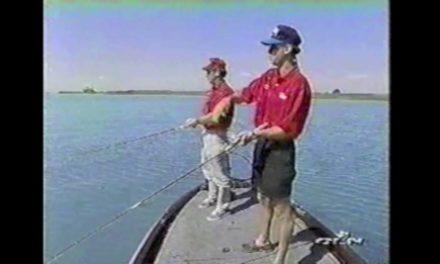"""BASS FISHING: Larry Nixon 1998 """"Michigan Smallmouth with KVD"""""""
