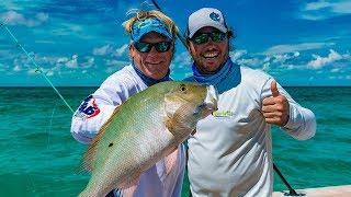 Chub Cay Bahamas Deep Sea Fishing Mahi Mahi Mutton Snapper – 4K