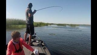 Delta bass fishing Ft. Tyler Anderson!