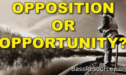 Effective Tournament Strategies: Is it Opposition or Opportunity? | Bass Fishing