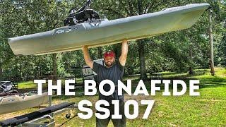 FlukeMaster – Introducing the Bonafide SS107 Fishing Kayak