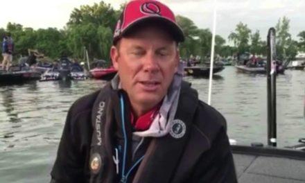 Kevin VanDam – day 1 Cayuga Lake 2016 Elite Series