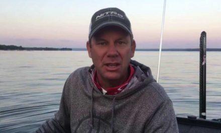 Kevin VanDam – day 3 Cayuga Lake Elite Series 2016!