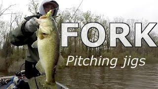 Lake FORK Jig Fishing – Early Spring