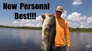 Lake Fork Summer Bass Fishing: His Biggest Bass Ever