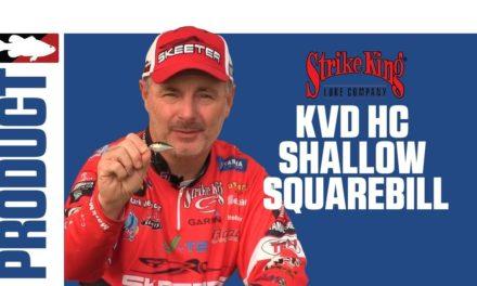 Mark Menendez Discusses the Strike King KVD HC Square Bill Silent Crankbait