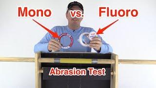 Salt Strong   – Mono vs Fluoro: Abrasion Resistance Test (Shocking Results)