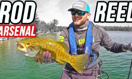 ROD REEL & BAIT Arsenal FISHING for Bass – Trip REcap