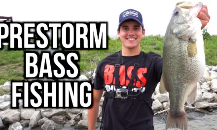 Flair – Spring Bass Fishing Before a Storm