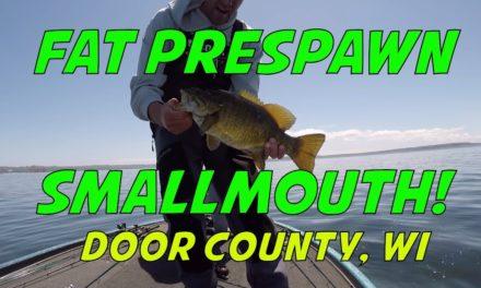 Sturgeon Bay Door County Smallmouth Bass Fishing – Sister Bay, Wisconsin