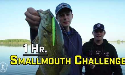 1v1 Smallmouth Bass Fishing Challenge with FLAIR!