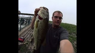 Bass Fishing in Heavy Current