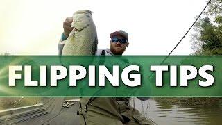 FLIPPING Soft Plastics – Bass Fishing TIPS