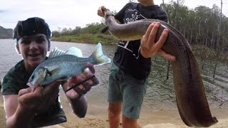 Kayak Bass Fishing – And Catching HUGE FISH! HD