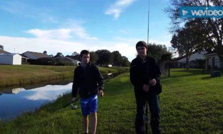 Schoolin Aaron in bass fishing